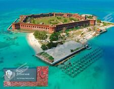 Florida - FORT JEFFERSON - Travel Souvenir Flexible Fridge MAGNET