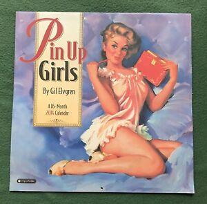 Vintage 2014 Gil Elvgren Pin-up Calendar Sexy Cheesecake art
