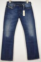 RRP €140 DIESEL ZATINY 008XR Men's W32/L34 Bootcut Fades Whiskers Jeans 11659*mm