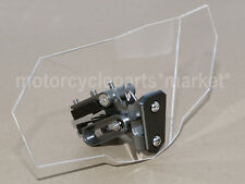 Clip on Windscreen Deflector Windshield Motor For BMW R1150GS Adventure clear