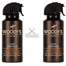 (€8,33/100ml) WOODY'S Deo Body Spray LOVE GRENADE 2x 150ml Pheromonen f. Männer