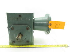 "Hytrol Worm Gear Box Speed Reducer 30:1 Ratio 3/4"" In 1"" Output Shafts"