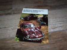 Catalogue / Brochure TRIUMPH GT6 Mk 2 1969 / 1970  //