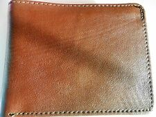 GENUINE MENS 6 Card & 2 ID Slots LEATHER WALLET *NEW*(gift for men)
