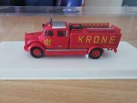 (D6) Brekina 4024 H0 MB Feuerwehr Circus Krone