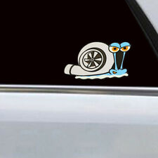 Funny Turbo Snail Decal PET Car Styling Bumper Window Decor Stickers Accessories