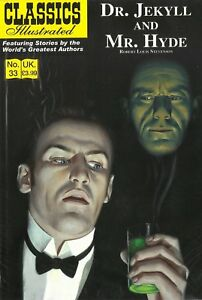 UK Classics Illustrated #33 - Dr Jekyll and Mr Hyde - August 2011, new copy!