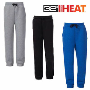 NWT!! 32 Degrees Heat Kids Jogger Sweat Pants, Black Blue Gray Choose Size Color