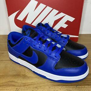 Nike Dunk Low Retro Black Hyper Cobalt Mens Size 10 - DD1391-001