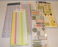 New Sealed lot 5 Stickers Heidi Grace K&Company Borders Shapes K&Co Scrapbooking