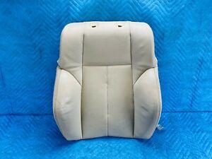 BMW 645Ci 650i Front Passenger Seat Upper Cushion Beige 2004-2010 OEM