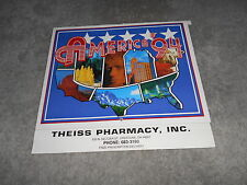1991 CALENDAR - THEISS PHARMACY INC. CRESTLINE, OHIO
