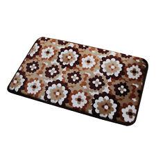 Z553 Carpet Geometric Print Coral Fleece Doormat Non-slip Floor Mat Hallway kitc