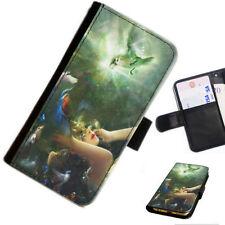Fundas con tapa Para Huawei Y6 estampado para teléfonos móviles y PDAs