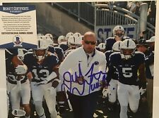 JAMES FRANKLIN SIGNED PENN STATE NITTANY LIONS 8x10 PHOTO BECKETT BAS COA D32866
