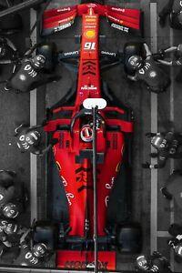 Ferrari, Charles Leclerc, F1Poster 24x36 inch