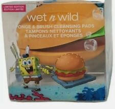Wet N Wild Spongebob Squarepants Krabby Patty Sponge & Brush Limited Edition