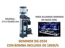 PROTEIN SKIMMER boyu dg-2524 1850l/h SEPARADOR UREA acuario MARINO HASTA 600L