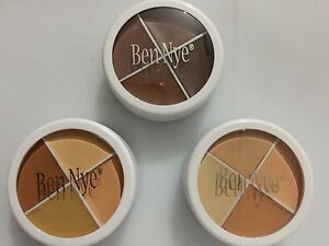Ben Nye Concealer 4 Colour Tattoo Cover Up Compact Wheel Scar Camouflage Makeup