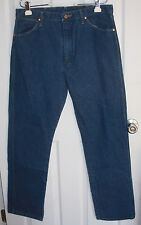 Wrangler Western Blue Jeans 36x32 100% Cotton Made In Mexico