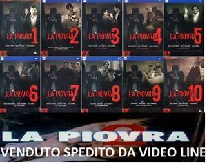 Dvd LA PIOVRA La Serie Completa Stagioni 01-10 - (10 Box + Libretto 25 DVD)