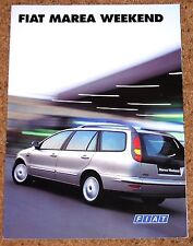 1996 FIAT MAREA WEEKEND Sales Brochure - HLX ELX SX TD