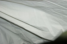 JOB LOT 30-40M 40Z WATERPROOF WHITE COATED NYLON FABRIC  MARKET STALL GAZEBO SHE