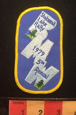 Vtg 1979 Bmw Motorcycle Shakamak Lake Rally Patch State Park Jasonville In 65J2