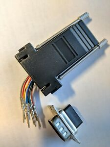 RJ45 To DB9 Adapter - Lot of 3 US Seller