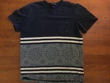 Vintage O'Neill Mens Blue Graphic T Shirt Size Medium Front Pocket