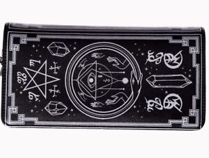 Lost Queen Spellbinder Witch Wicca Magic Punk Adult Womens Wallet WT1486