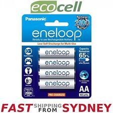 Panasonic Eneloop 2000mAh, AA Rechargeable Batteries (4 Pack), SYDNEY