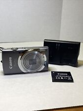 Canon PowerShot ELPH 140 IS / 16.0MP Digital Camera With Charger/Case