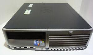 HP Compaq dc7600 USFF PC (Intel Pentium D 2.8GHz 1GB NO HDD) Works!