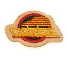 """Vintage 1980s Vancouver Canucks NHL Hockey 2"""" Sticker Patch"""