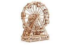 Wood Trick Ferris Wheel Model Mechanical Wooden 3D Puzzle Self Assembly Kit