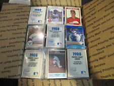 Approx 100 Minor League Team Sets 1986-90 With lots of Major League XRCs