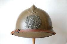 Casque d'officier médecin Service de Santé 39-45 WW2 Adrian Modèle 1926