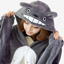 More details for my neighbor totoro plush soft cosplay cloak hoodie party halloween gift prop