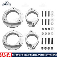 "2"" Billet Lift Kit Spacers For 10-15 Subaru Legacy & Outback & FRS / BRZ"