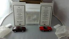 Matchbox ULTRA Collectibles BMW 860i and 1987 Corvette CPM02-M With Certificates