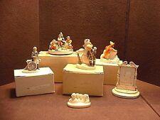 Lot of 6 Vintage P.W.Baston Sebastian Miniature Figurines Some Signed By Pwb