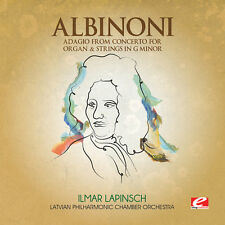 Albinoni - Adagio from Concerto for Organ & Strings [New CD] Manufactured On Dem