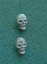 Halloween Skull Small Pierced Earrings - Fashion Jewelry
