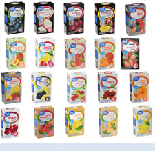 4 Boxes Of Great Value SugarFree Low Calorie Variety Pack Drink Mix Water Flavor