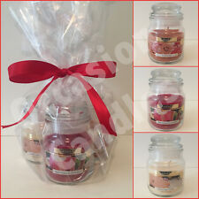 Christmas Candle Gift Set Gingerbread/Vanilla Sugar Cookie/Apple & Cinnamon Jars