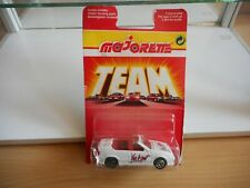 "Majorette Renault 19 Cabriolet ""Vive le Sport"" in White on Blister"