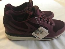 Allrounder by Mephisto Women's Kalibra Sport Shoes Wine G Nubuck/Suede Size 8