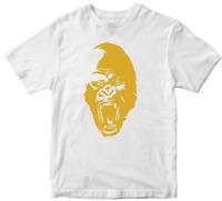 Gorilla T-shirt wild King Kong Adventure Jungle ape strength baboon Animal Tee