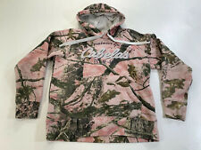 Cabelas ZONZ Woodlands Pink Camo Womans Small Hoodie